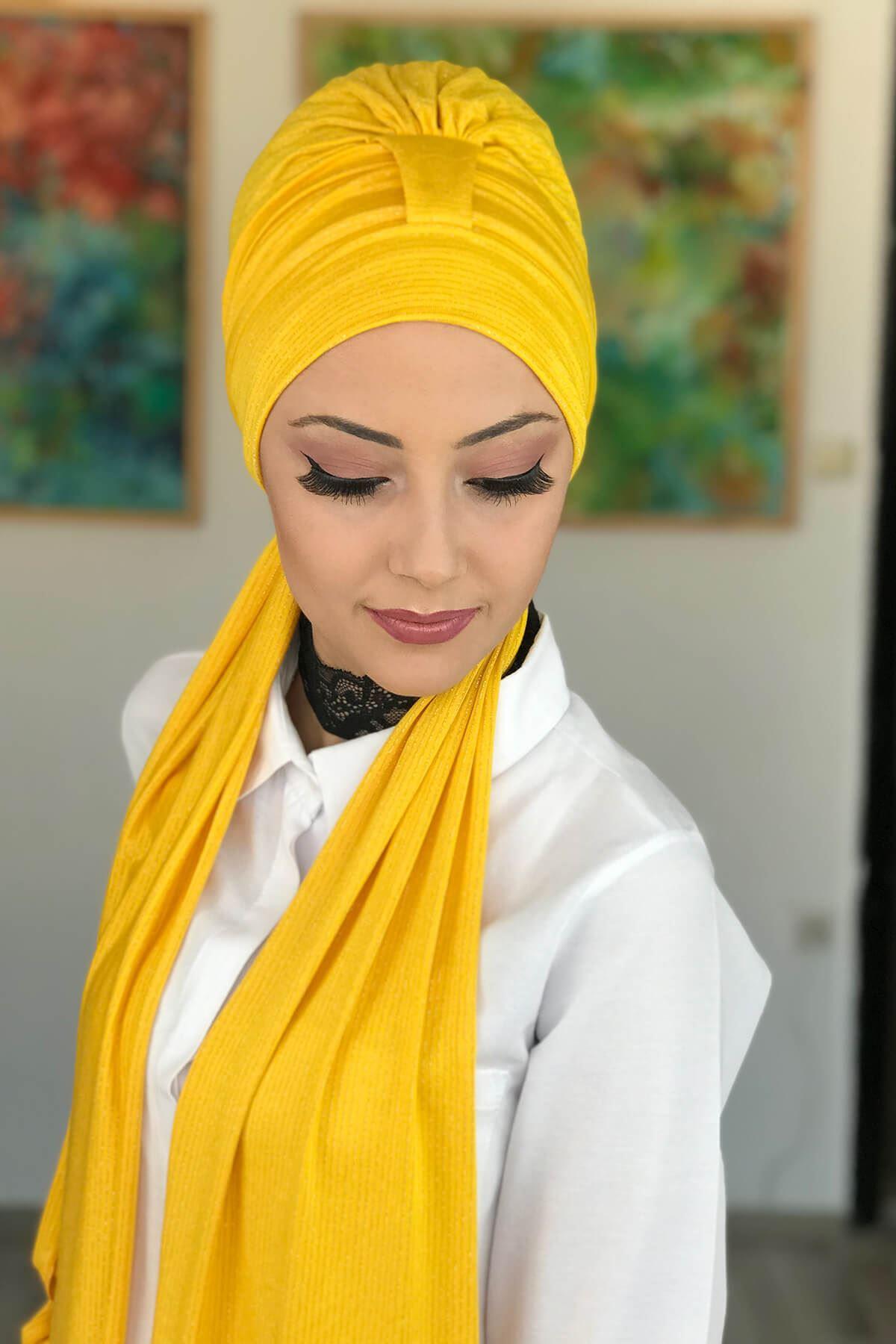 Sarı Bone Şal