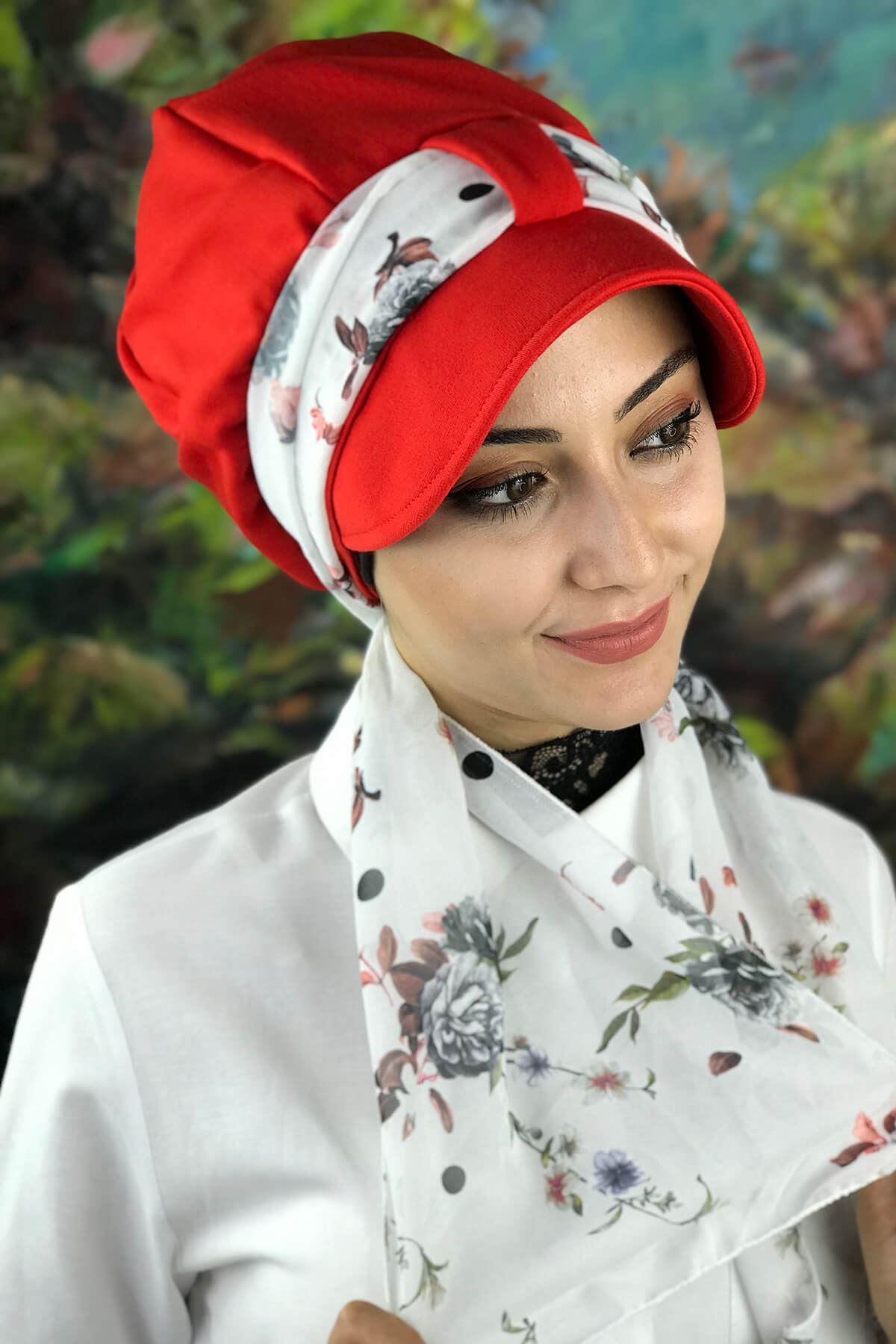 Turuncu Kadın Şapka